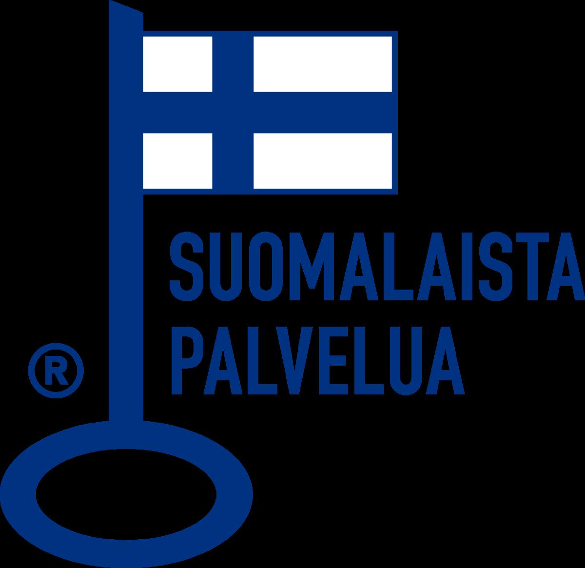 Line Carrierilla on Avainlippu merkkinä suomalaisesta työstä.